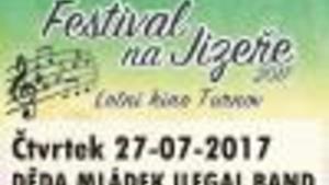 DĚDA MLÁDEK ILEGAL BAND, Festival na Jizeře
