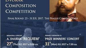 Závěrečný koncert Mezinárodní kompoziční soutěže Antonína Dvořáka