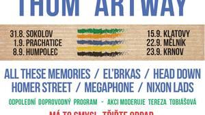 Wohnout a Thom Artway hlavními hvězdami letošího ročníku turné Ekompilace 2017 - Mělník