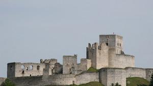 Přemysl Rut na hradě Rabí