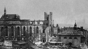 Praha bombardovaná