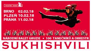 Národní balet Gruzie SUKHISHVILI v Praze