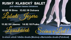 Ruský klasický balet – Klasika a led v Ostravě