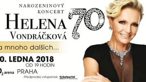Narozeninový koncert Heleny Vondráčkové