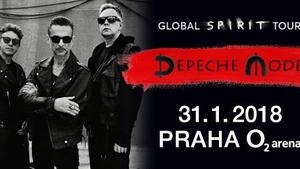 DEPECHE MODE SE V RÁMCI GLOBAL SPIRIT TOUR VRÁTÍ V ZIMĚ DO EVROPY!