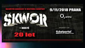 """ŠKWOR odhaluje velkolepé plány! Nové album jako """"předkrm"""" a koncert v O2 areně coby hlavní chod!"""