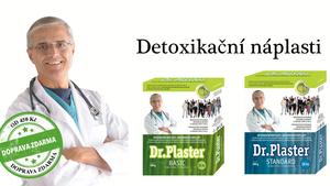 Detoxikace organismu–detoxikační náplasti Dr.Plaster