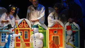 Vánoce tří sněhuláků - Vánoční festival v divadlech ABC a Rokoko