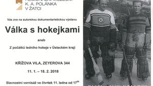 Válka s hokejkami aneb Z počátků ledního hokeje v Ústeckém kraji