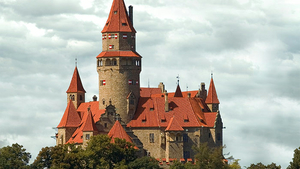 Jarní Flóra na hradě Bouzov
