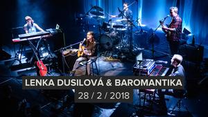 Lenka Dusilová & Baromantika provedou Flédu elektroakustickými krajinami