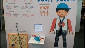 Igráček provází interaktivní vzdělávací výstavu