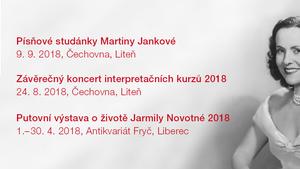 Putovní výstava o životě Jarmily Novotné zavítá v dubnu do Liberce a pozve i na doprovodný program