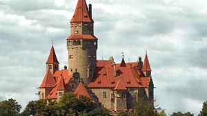 Balony nad hradem Bouzov