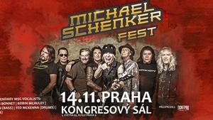 Heavymetalová kytarová ikona Michael Schenker přiveze do Prahy superskupinu se čtyřmi špičkovými zpěvák