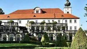 Oficiální oslava narozenin medvěda Medouška na zámku Zákupy