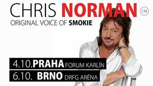 Podmanivý hlas Chrise Normana potěší české fanoušky slavnými hity nejen z éry Smokie