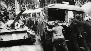 Venkovní výstava Srpen 1968 u Muzea hlavního města Prahy