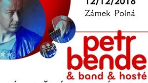 Vánoční koncert Petra Bendeho na Zámku v Polné