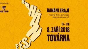 Banán fest 2018. 3. ročník festivalu oslavující vietnamskou kulturu