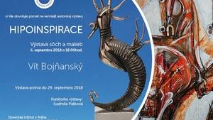 """Výstava """"HIPOINSPIRACE"""" Vít Bojňanský v Slovenském Institutu v Praze"""