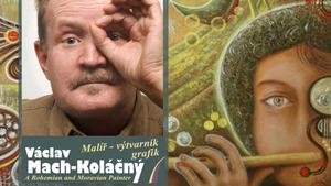 """Výstava """"Echo post-atomové renesance"""" Václav Mach-Koláčný v Accace Office Gallery Praha"""