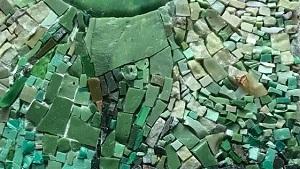 Současná česká mozaika na Chodovské tvrzi