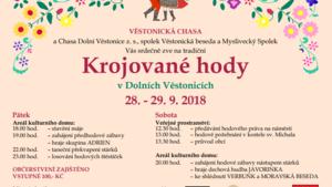 Tradiční krojované hody v Dolních Věstonicích 2018