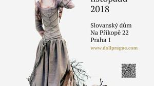 Doll Prague 2018 - panenky, loutky i medvídci Teddy jen tři dny ve Slovanském domě