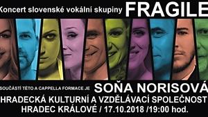 FRAGILE – Koncert slovenské vokální skupiny