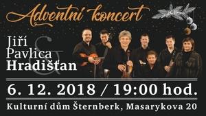Adventní koncert Hradišťan & Jiří Pavlica
