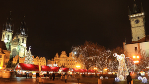Vánoční trhy 2018 - Praha Staroměstské náměstí