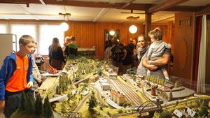 Vánoční výstava vláčků a modelů v Červeném Kostelci
