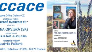 """Výstava """"Farebné impresie II."""" Ivana Orviská (SK)"""