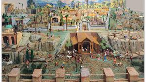 Otevření velkoplošného betléma