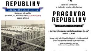Pracovna republiky - Architektura Plzně v letech 1918-1938