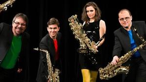 Koncert Bohemia Saxophone Quartet