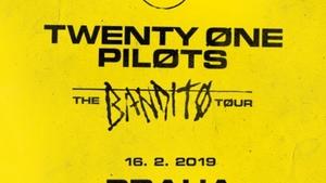 Twenty One Pilots přijedou do Prahy se svou The Bandito Tour