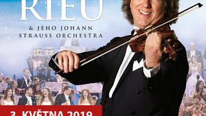 André Rieu in Prague 2019 - with his Johann Strauss Orchestra v O2 arena Praha