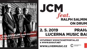 "JCM - ""In Memory Of Jon Hiseman"": Clem Clempson, Mark Clarke & Ralph Salmins on drums"