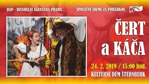 Divadelní představení pro děti - Čert a Káča