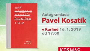 Autogramiáda Pavla Kosatíka