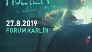 Irský zpěvák Hozier ve Forum Karlín