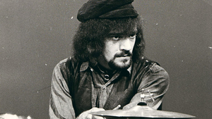 drums of Jethro Tull - Clive Bunker /UK/ v klubu Mersey