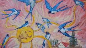 Výstava obrazů Magdaleny Křenkové Florianové