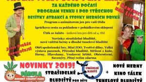 Školní výlety 2019 s NOVINKAMI v parku Fábula