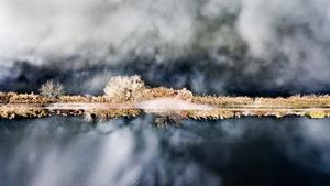 Třeboň: výstava S NADHLEDEM - třeboňské vzdušné krajiny Daniela France