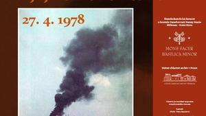 """Výstava """"40 let od požáru Svaté Hory""""  - prodlouženo"""