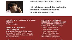 Třeboňská nocturna 2019