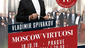VLADIMIR SPIVAKOV/a VIRTUOSOVÉ MOSKY/UNIKÁTNÍ TURNÉ 2019